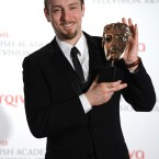 Derren Brown at the BAFTA Television Awards 2012