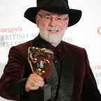 Terry Prachett at the BAFTA Television Awards 2012