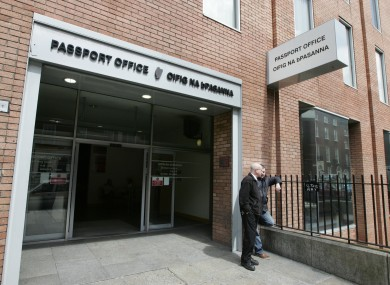 The passport office on Molesworth St: now much cheaper