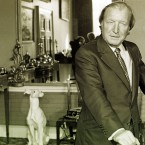 Haughey at home in 1982. Pic: Photocall Ireland