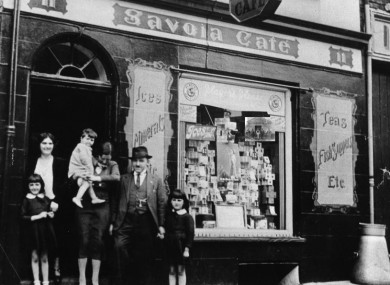 One of the first chip shops in Ireland.