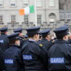Gardaí pictured at Dublin Castle for the annual Garda Memorial Day service, commemorating members of An Garda Siochana who have died in the line of duty. (Image: Laura Hutton/Photocall Ireland)