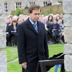 Minister Shatter lays a wreath during the annual commemorations. (Image: Laura Hutton/Photocall Ireland)