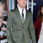 Twice the hero, Ryan Gosling intervened during a street brawl in New York and also rescued a woman from being hit by a taxi. (Tammie Arroyo/PA Images)