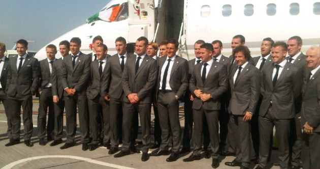'Wheels up' — Ireland squad suited and booted for Euro 2012 departure