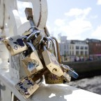 Dublin City Council has asked couple to refrain from adding anymore so-called 'love locks' to the city's Ha'penny Bridge – saying these public symbols of love could damage the protected structure. 