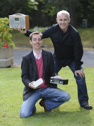 Tubridy and D'Arcy pictured in 2009