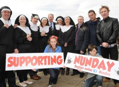 Nunday this Saturday
