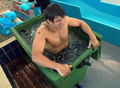 Donncha O'Callaghan is no stranger to icy waters.