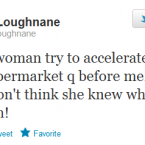 You should never try to overtake Olive Loughnane, according to Olive Loughnane. 