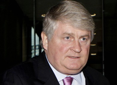 Denis O'Brien pictured last year