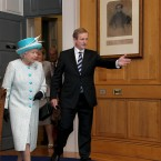 Less than two months after being elected, Enda played host to the Queen during her first State visit to Ireland. The visit was seen as a huge success, even managing to dwarf Barack Obama's visit later that same week. (Photo: Maxwells/PA Wire)