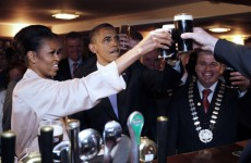 Michelle Obama shares husband's Irish roots