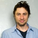 Zach Braff, best known as JD in Scrubs, won a Grammy for Best Compilation Soundtrack for his film Garden State. (AP Photo/Charles Sykes)