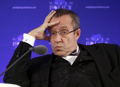 Toomas Hendrik Ilves was not amused at Paul Krugman's analysis of his country's economic performance.