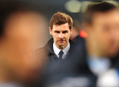 AVB: fired by Chelsea last season.