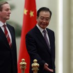 After soon-to-be Chinese premier Xi Jinping visited Ireland in February, Enda returned the favour by visiting China in March in what was seen as a landmark trip to cement business relations between Ireland and one of the world's biggest trading powers (AP Photo/Ng Han Guan)