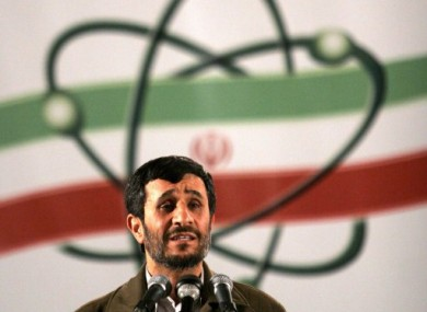 File photo of Iranian President Mahmoud Ahmadinejad.