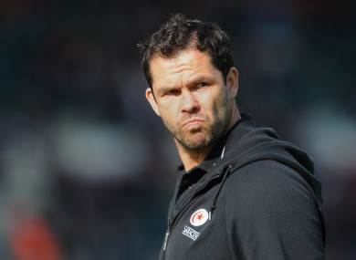 Andy Farrell: back with England set-up.