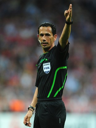 Proenca will officiate the Euro 2012 final on Sunday.