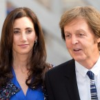 Paul McCartney and current wife Nancy Shevell attend a 'celebration of the arts' event at the Royal Academy of Arts in London in May 2012. (Anwar Hussein/EMPICS Entertainment)