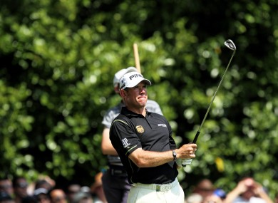 Lee Westwood (file photo).