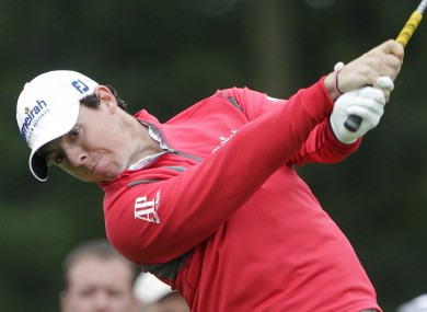 McIlroy has improved after a disappointing start to the tournament.