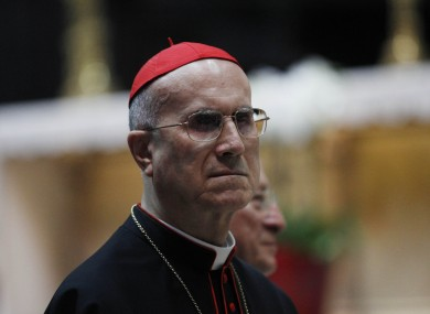 Vatican Secretary of State Cardinal Tarcisio Bertone (File photo)