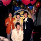 Paul McCartney with fellow Beatles on 25 June 1967. (PA Wire)