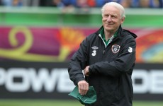 Net gains for Trap as Given to train tomorrow, Ireland manager says