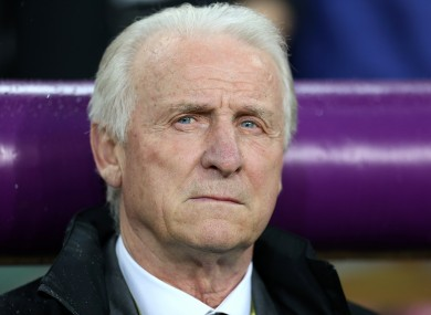 Trapattoni has a lot to consider ahead of the World Cup qualifiers.