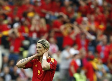 Torres experienced a poor season by his standards with Chelsea.