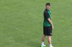 Trap hints Keane's the man to lead the line alone against La Roja