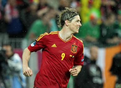 Torres scored twice last night.
