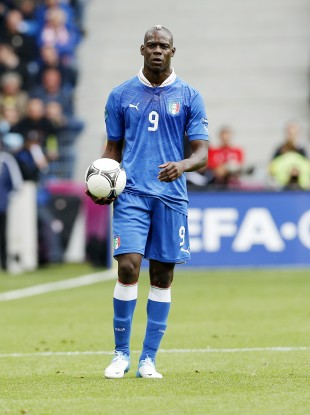 Italy and Manchester City striker Mario Balotelli.
