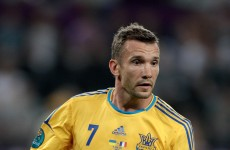 Shevchenko doubtful for England clash