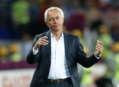 Van Marwijk oversaw Holland's three straight losses at the Euros.