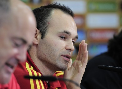 Iniesta has defended Spain's tika-taka style.