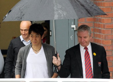 Kagawa had his medical in Manchester yesterday.