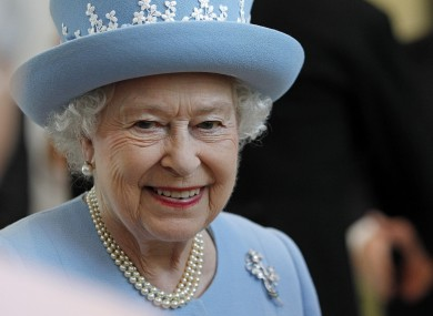 Queen Elizabeth II smiles during a visit to the South West Acute Hospital in Enniskillen yesterday. Her two-day visit to Northern Ireland concludes today.