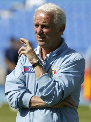 Trap as Italy boss in 2004.