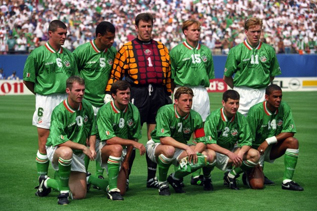 Soccer - 1994 FIFA World Cup USA - Group E - Italy v Republic of Ireland - Giants Stadium, New York