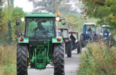 Woman killed in charity tractor run crash