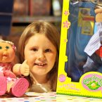 Retro favourites Cabbage Patch Kids made it onto the list.