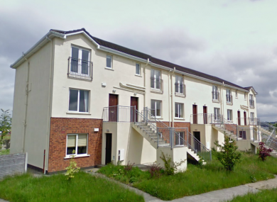 The unoccupied Gleann Riada apartment block, pictured here in 2009, will be knocked this summer.
