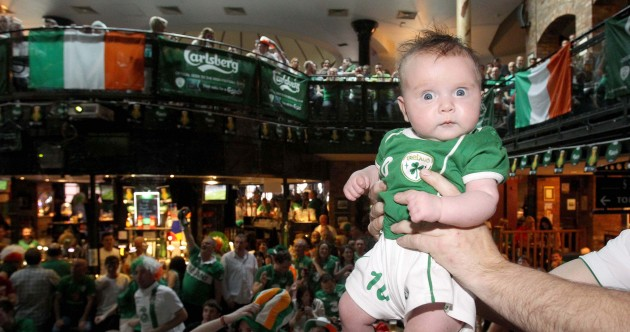 Thunderstorms, rioting and cute Irish babies: here are the 50 most iconic images of Euro 2012