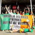EURO 2012 Republic of Ireland Fans, Gdansk, Poland 