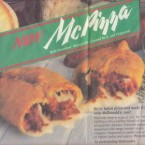 McDonald's developed new pizza items in the late 1980s in its push to start offering dinner items, but it had some inherent problems right from the get-go.