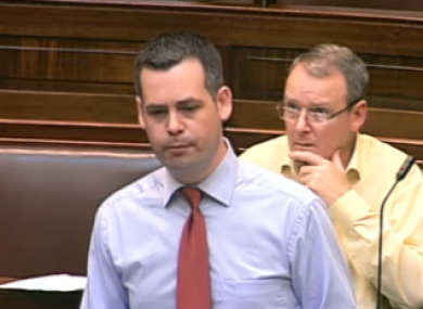 Pearse Doherty said one licensed lender charged interest rates of up to 210 per cent APR.
