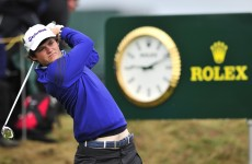 Double bogeys cost amateur golfer Alan Dunbar on his Open debut